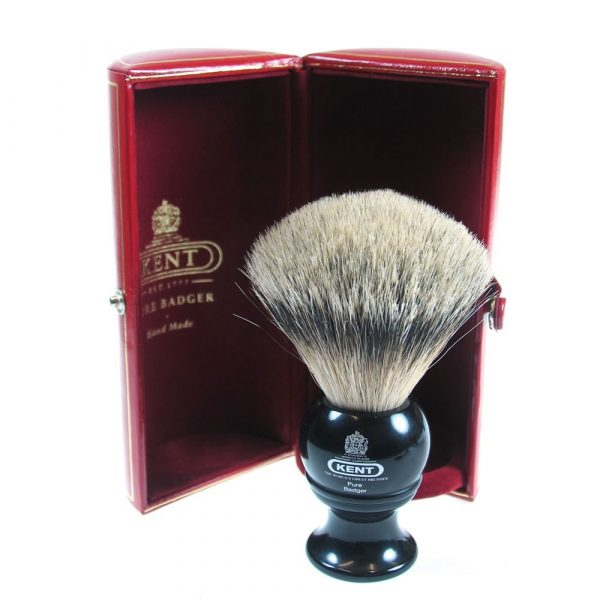 KB Kent BLK4 Silvertip Badger Brush